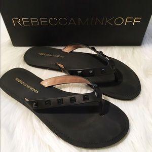 Rebecca Minkoff Studded Thongs