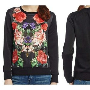 South Pole Tops - South Pole Floral Graphic Sweatshirt NWT