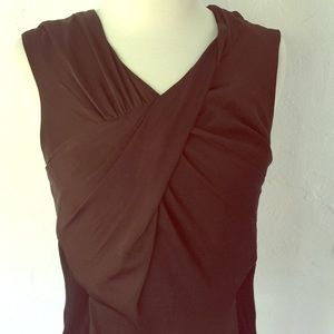 Vince Camuto twist front top