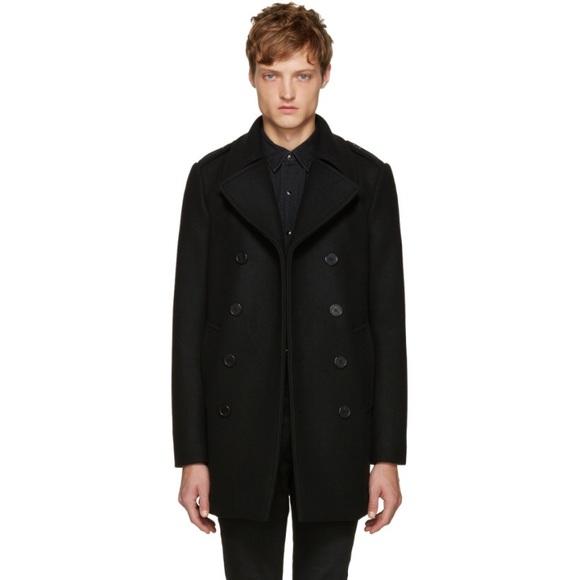 52e9e8c6744 Yves Saint Laurent Jackets & Coats | Wool Pea Coat Beautiful | Poshmark