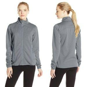 Jackets & Blazers - Gray Birdseye Pattern Fleece Jacket NWT