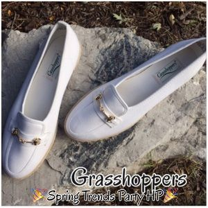 grasshoppers Shoes - Grasshoppers Canvas Espadrille Loafers -NWOB