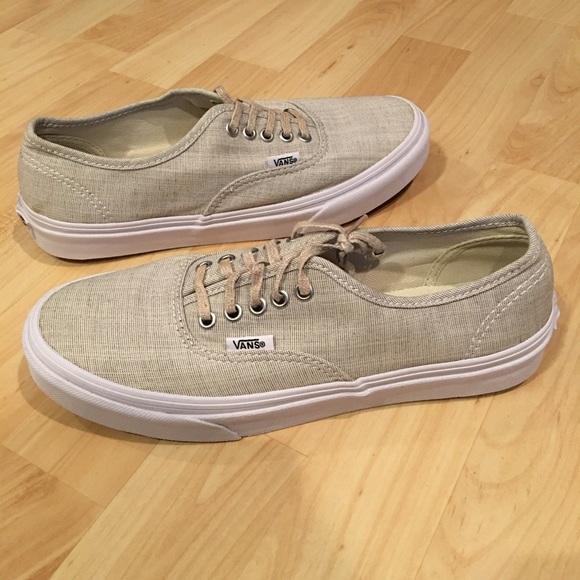 2589799ab8 Vans Shoes - Women s Vans 7.5 Beige Nude