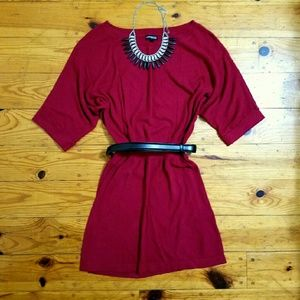 Express Dresses & Skirts - 💥FINAL SALE PRICE!!💥 Express red sweater dress