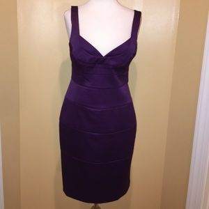 🎀👗London Times-Purple Dress-Sz-10🎀👗
