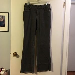 Coldwater Creek grey bootcut jeans