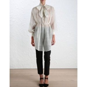Zimmermann Tops - FINAL [zimmermann] Mischief Cravat Tunic