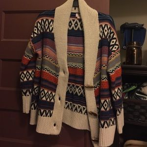 Forever 21 Sweaters - Pattern cardigan