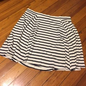 Cotton On Dresses & Skirts - Navy and white striped skirt
