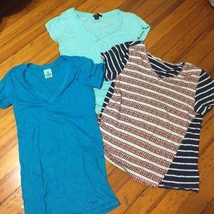 Tops - 3 tee shirts set