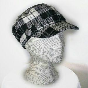 Boutique Page Boy Tartan Plaid Hat Cap