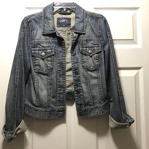 Loft Denim Jacket Size 6