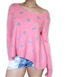Victoria's Secret Sweaters - • Victoria's Secret • Angora Polka Dot Sweater