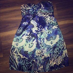 Cache Dresses & Skirts - Strapless Formal Dress