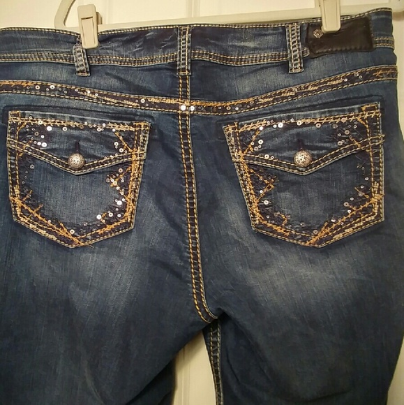 68% off Silver Jeans Denim - Silver Jeans - Plus Size 18 from