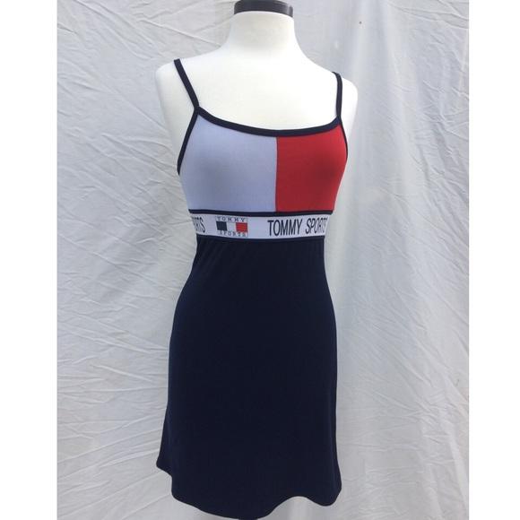 d997f1ec 90s Tommy Hilfiger Sports Babydoll Dress. M_580c22caa88e7dc98b05fc13