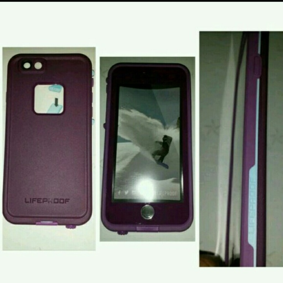 quality design addd2 a4098 Crushed purple and blue iphone 6 plus lifeproof