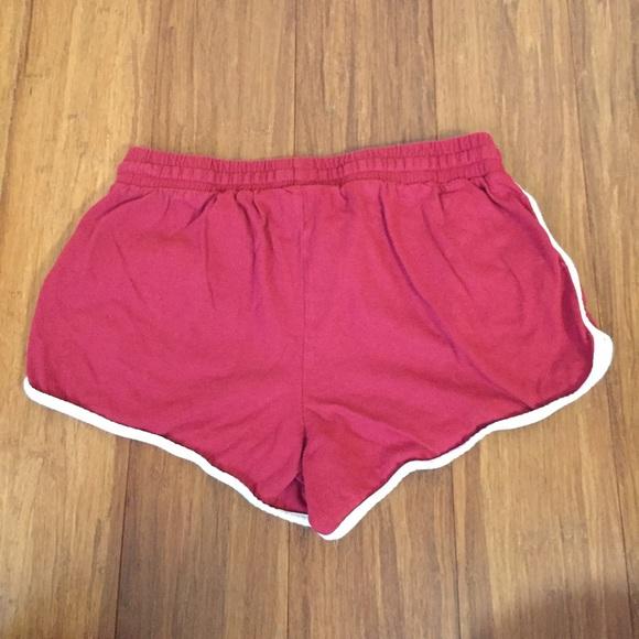 33% off Forever 21 Pants - F21 Red Dolphin Hem, Drawstring, Pocket ...