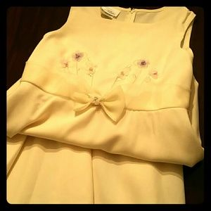 Bonnie Jean Other - 👗Beautiful pale yellow girls dress.