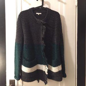 SALE!!! NWOT Madewell Fringe Open Cardigan Sweater