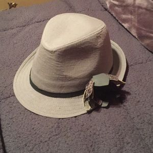 Trendy Grey Fedora
