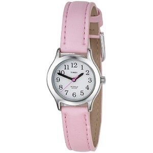 Timex Accessories - Timex Pink Leather Strap Analog Watch