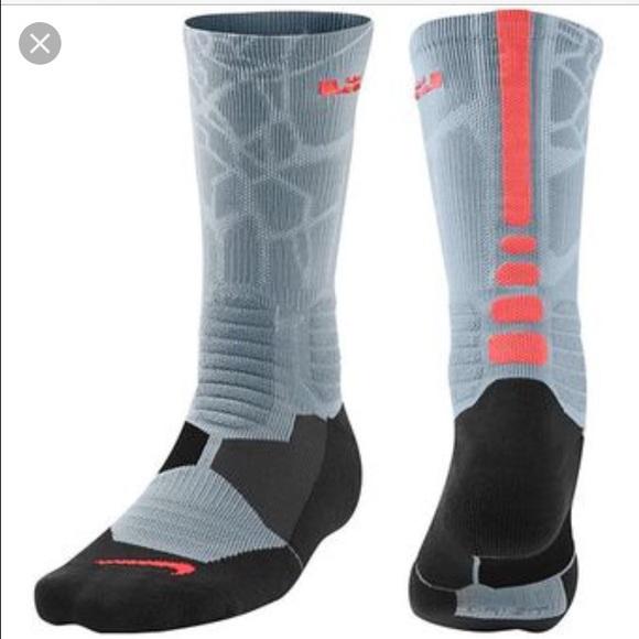 rodear web balsa  Nike Underwear & Socks | Hyper Elite Cushioned Socks Lebron James | Poshmark