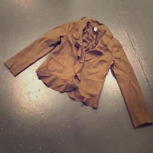 Jcrew Camel Coat size 6