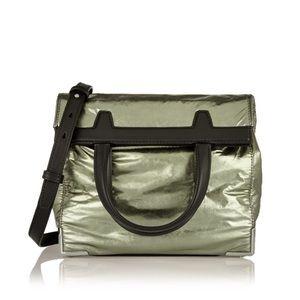 Alexander Wang army-green and black shoulder bag