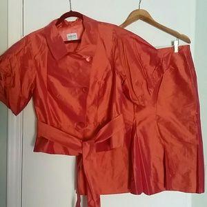 Armani blazer and skirt NWOT