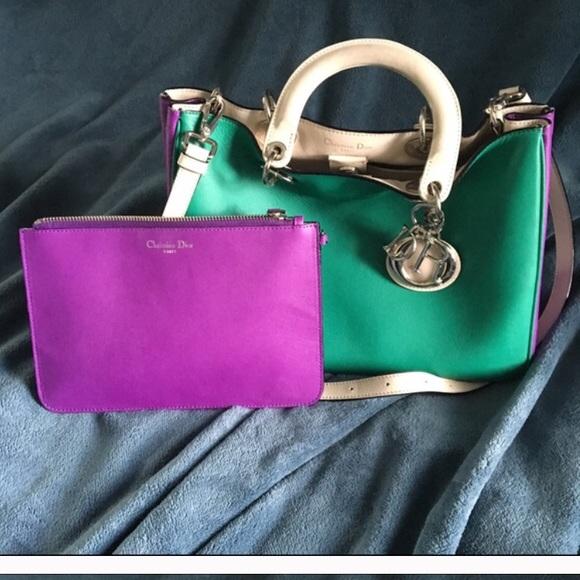 e29ea055dc99 Christian Dior Handbags - Back on the market authentic Diorissimo bag!