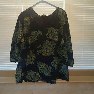 St John's Bay blouse