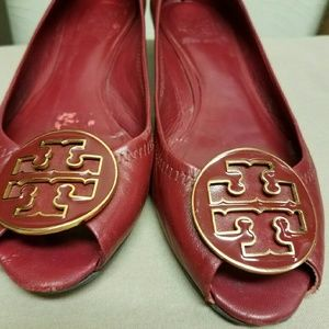Tory burch wedges 6 1/2