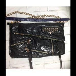 Rebecca Minkoff Black Stud Harper Crossbody Bag