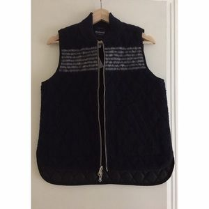 Madewell Reversible Vest Size S NWT