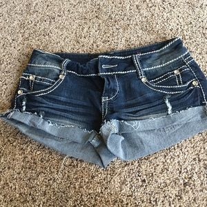 Pants - Almost Famous Jean shorts