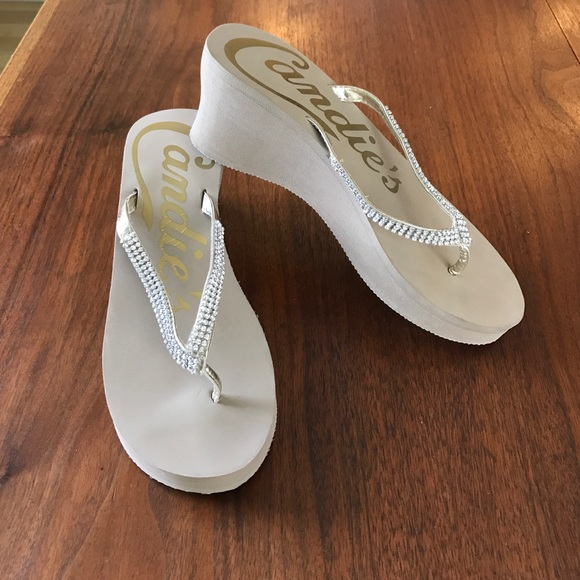 3de31c8b84842 Candie s Shoes - ❤Candies rhinestone flip flops❤