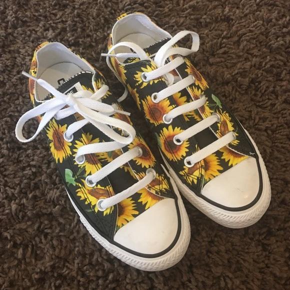 21fbb2957886 Converse Shoes - Sunflower Converse chucks