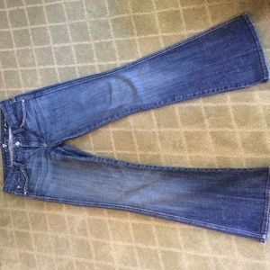 "7 For all Mankind ""A Pocket"" jeans"
