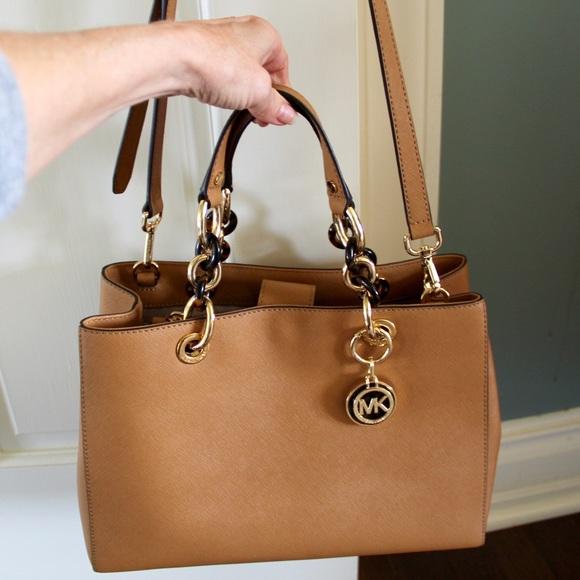 KORS Michael Kors Handbags - ‼ ‼️SALE Michael KORS Cynthia Leather Satchel 4c5e47514