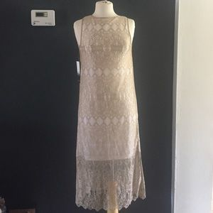 NWT Kensie Lace Midi Dress