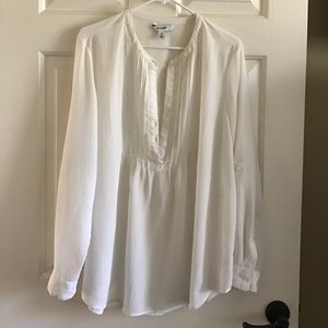 Cream Blouse OLd Navy XL