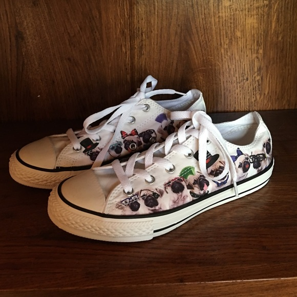 f103ebbe7c7 Converse Other - Converse Kids size 3 Pug Shoes NEW