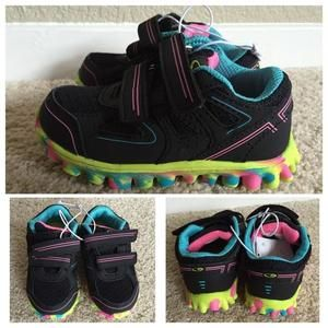 Other - New w/tags Velcro strap tennis shoes