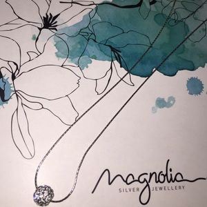 Magnolia Jewelry - Magnolia Pedant Necklace