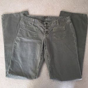 Joie Army Green Jeans