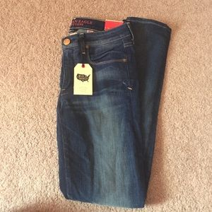 American eagle low rise stretch skinny jeans
