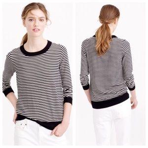 NWOT J.Crew tippi sweater in stripe