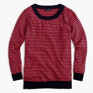 J.Crew tippi sweater in stripe