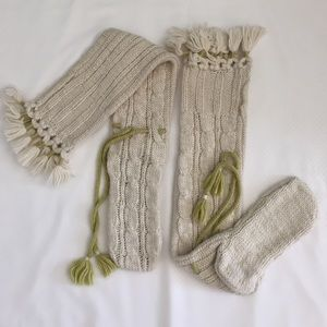New Cable knit leg-wear